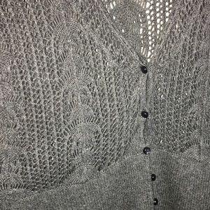 Lane Bryant Sweaters - Lane Bryant Open Knit Cardigan Size 18/20